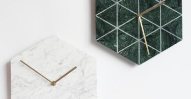 Natural Marble Wall Clock