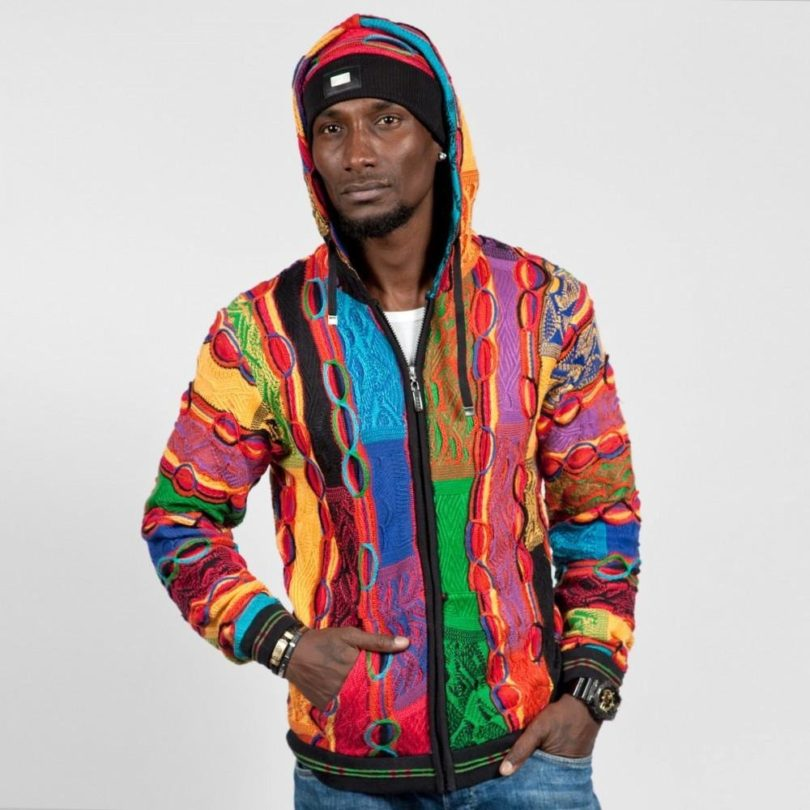 COOGI Bright Patchwork Zip Hoody
