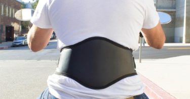 MotoSport Kidney Belt with Lumbar Pad