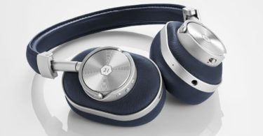 MW60 Silver/Navy Wireless Over-Ear Headphones