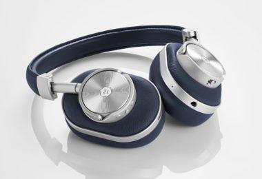 MW60 Silver/Navy Wireless Over-Ear Headphones