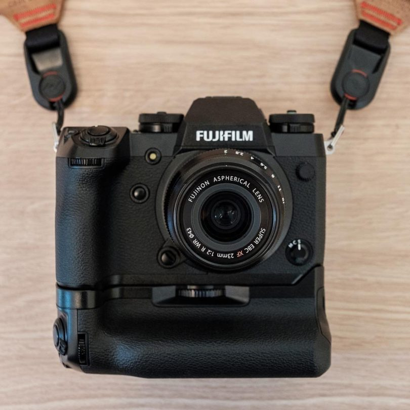 Fujifilm X-H1 Mirrorless Digital Camera Kit