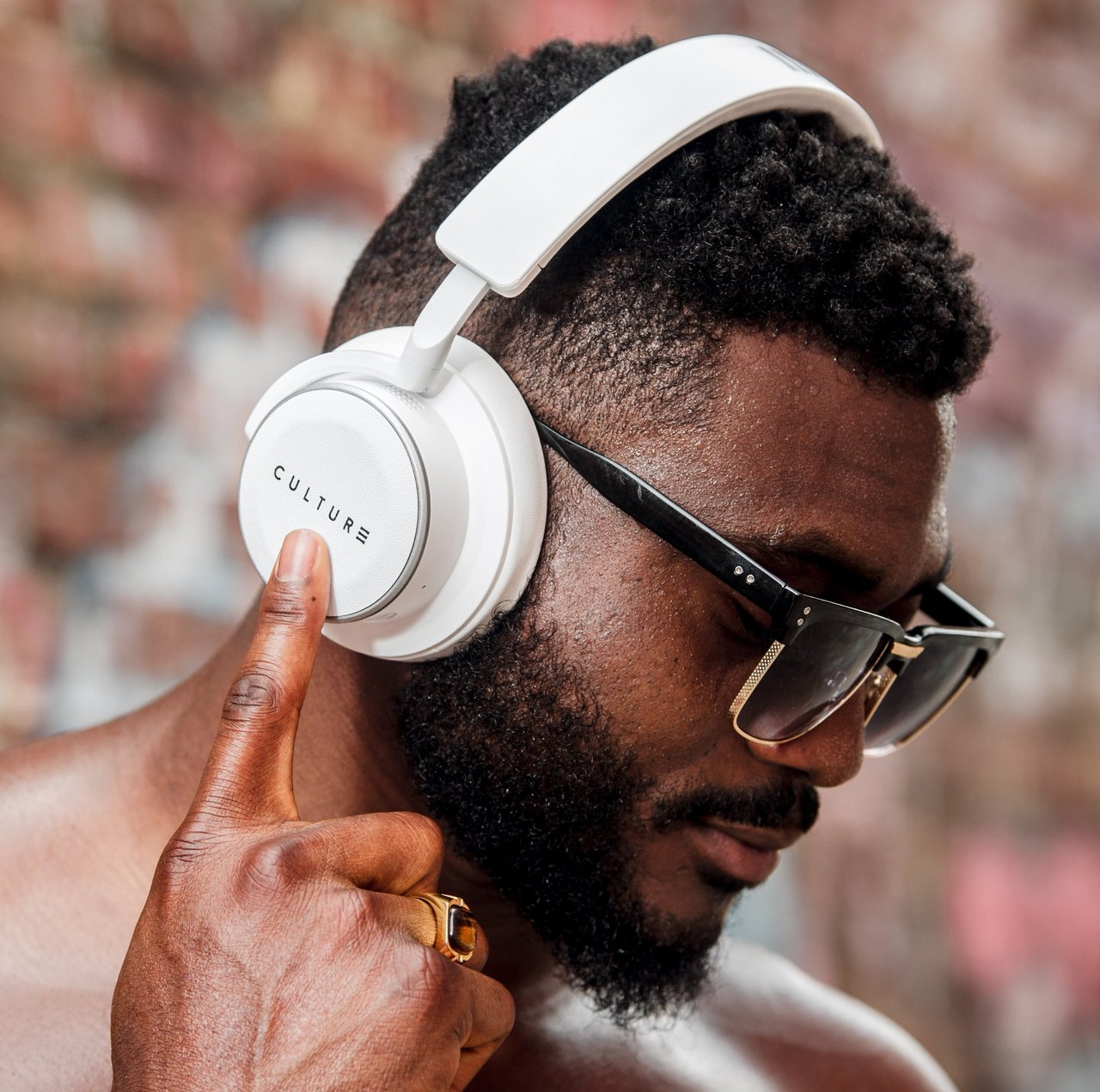 Culture V1 Noise Cancelling Wireless Over Ear Headphones