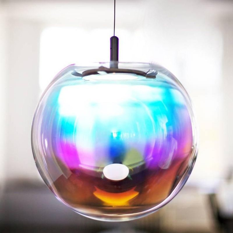 Iris Bubble Pendant Lamp by Sebastian Scherer