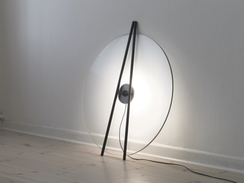 Sculptural Floor Light by Daniel Rybakken for J. HILL's Standard
