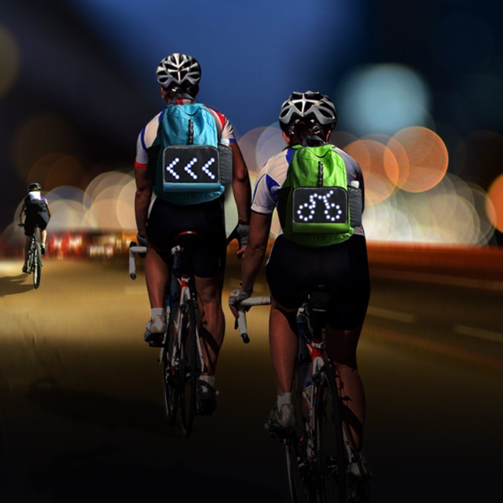 CYGLO Cycling Backpack with LED Signal Display