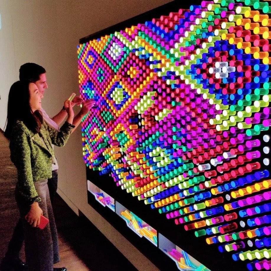 Litezilla Interactive Light Wall 187 Petagadget