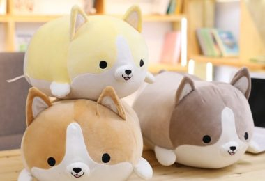 Squishy Corgi Plush Pillow
