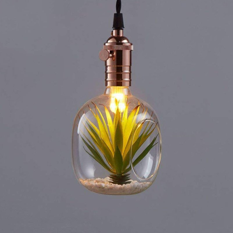 Glass Decorative Planting LED Light Bulb