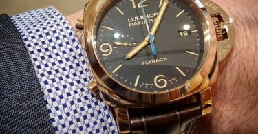 Panerai Luminor PAM00525 Flyback