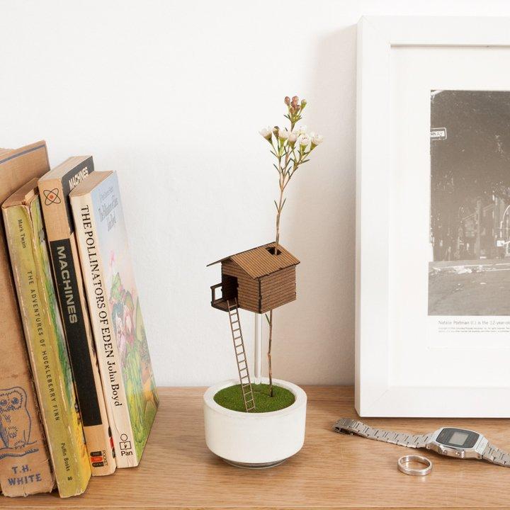 Treehouse Vase