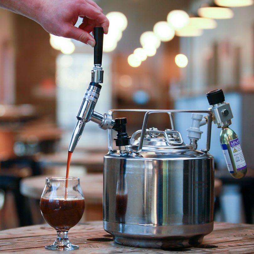 Jacked-Up Nitro Cold Brew Keg System