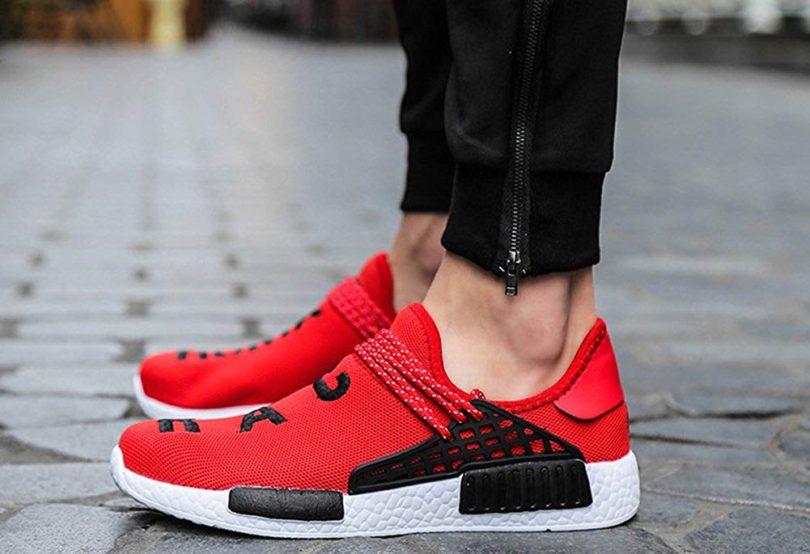 JIYE Men's Running Shoes Women's Free Transform Flyknit Fashion Sneakers