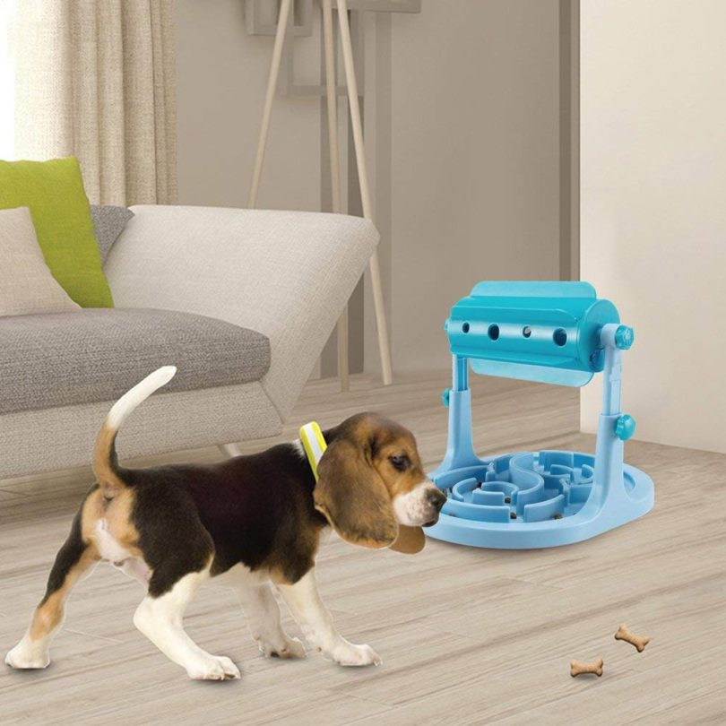 Petfactors FDA certified Slow Feeder Dog Bowl