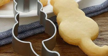 Tuscom Cartoon Animal Kitten Cutting Sugar Craft Aluminium Cake Cookies Pastry Baking Cutter Mold