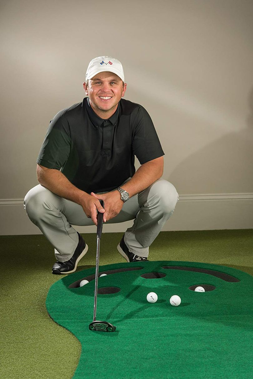 Shaun Webb's Golf Putting Green & Indoor Mat 9'x3′