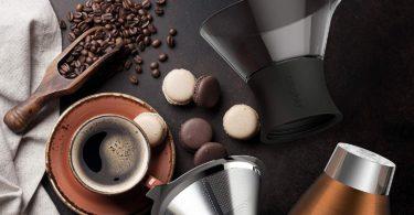 Asobu Copper Insulated Pour Over Coffee Maker (32 oz.)