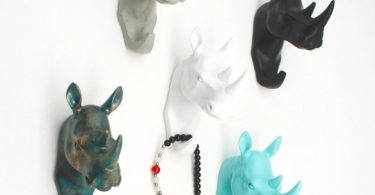 Rhinoceros Wall Hanger
