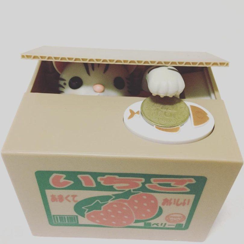 Itazura Bank Pet Coin Box