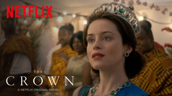 The Crown TV show poster