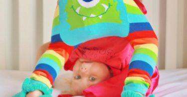 Rainbow Monster Legging