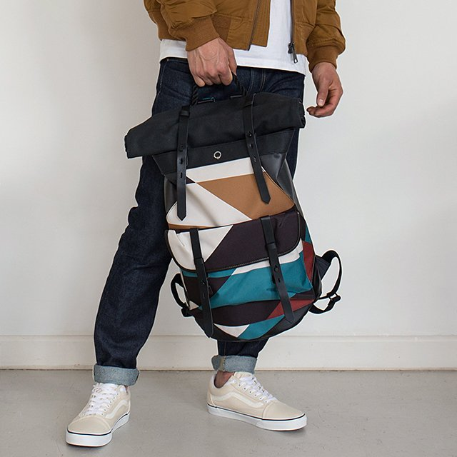 Ronan Moving Mountain Rolltop Backpack by Stighlorgan