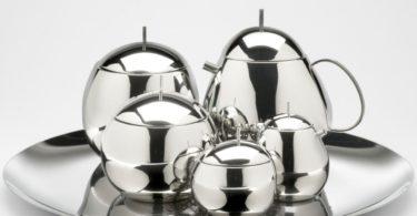 Officina Alessi Fruit Basket Teapot