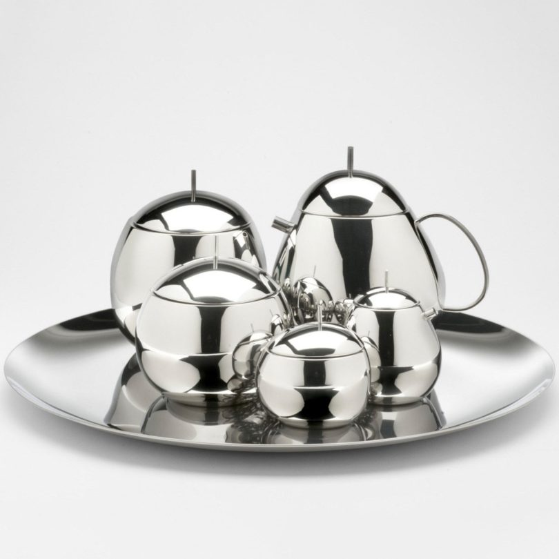 Officina Alessi Fruit Basket Teapot
