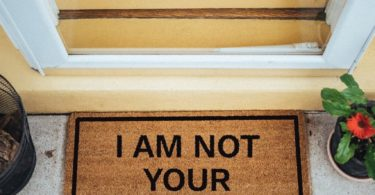 I Am Not Your Doormat Doormat