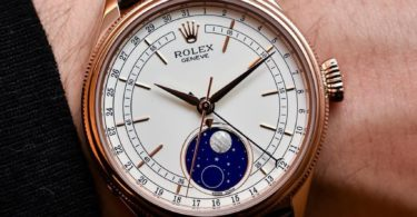 Rolex Cellini Moonphase Rose Gold Watch