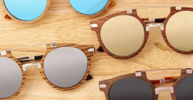 Earth Wood Petani Polarized Sunglasses