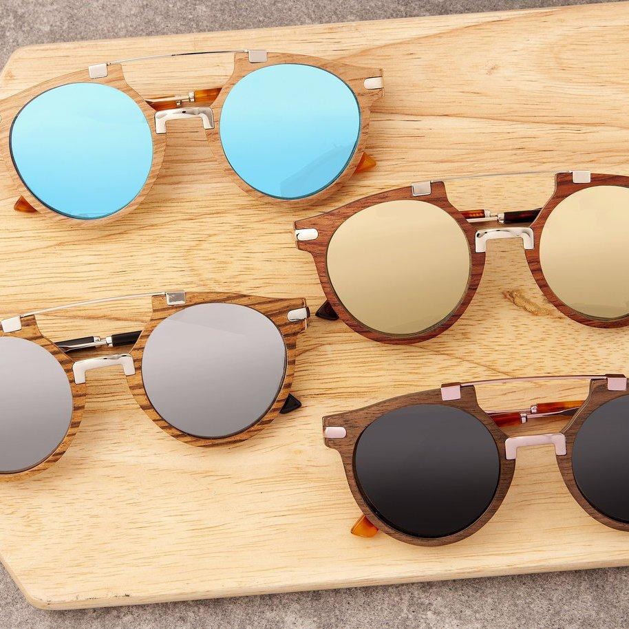 Earth Wood Petani Polarized Sunglasses