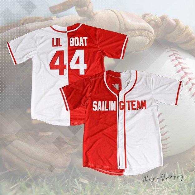 Lil Boat Lil Yachty #44 Sailing Team Baseball Jersey