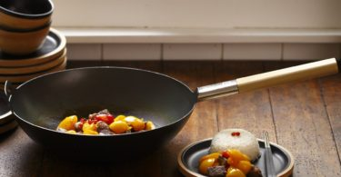 JIA Inc. Carbon Steel Wok