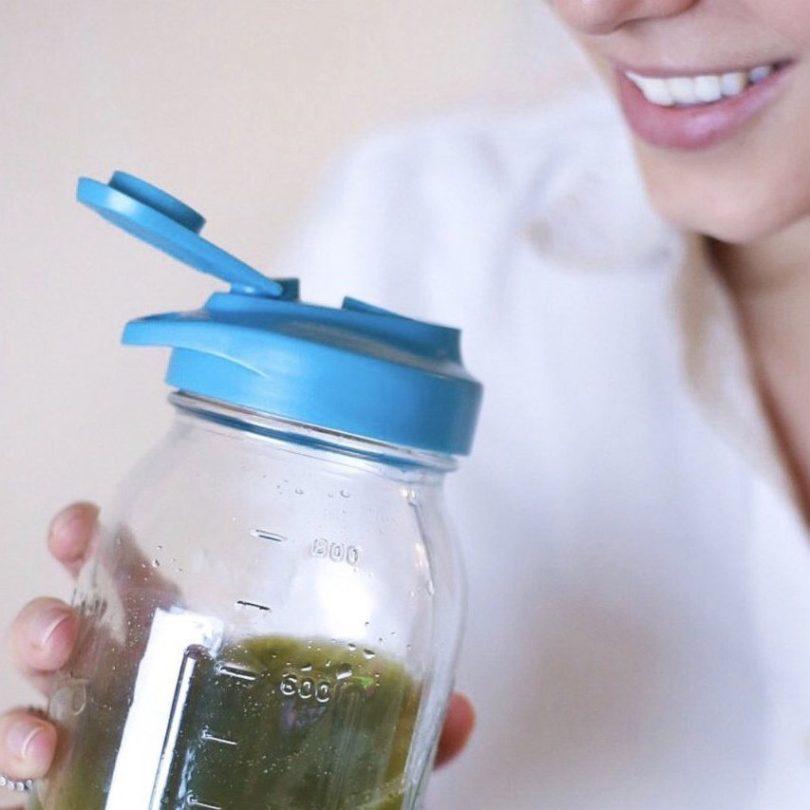 Easy Sip & Pour Mason Jar Lids