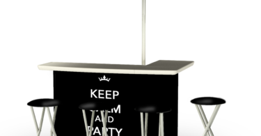 Keep Calm & Party On Bar