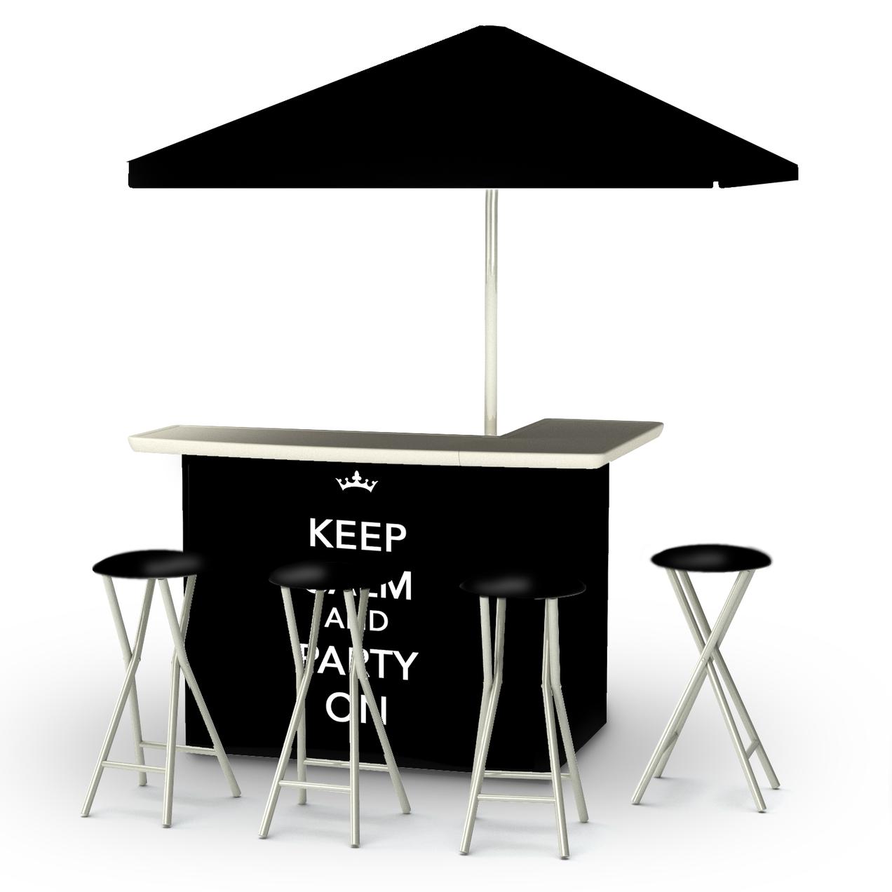 Keep Calm & Party On Bar