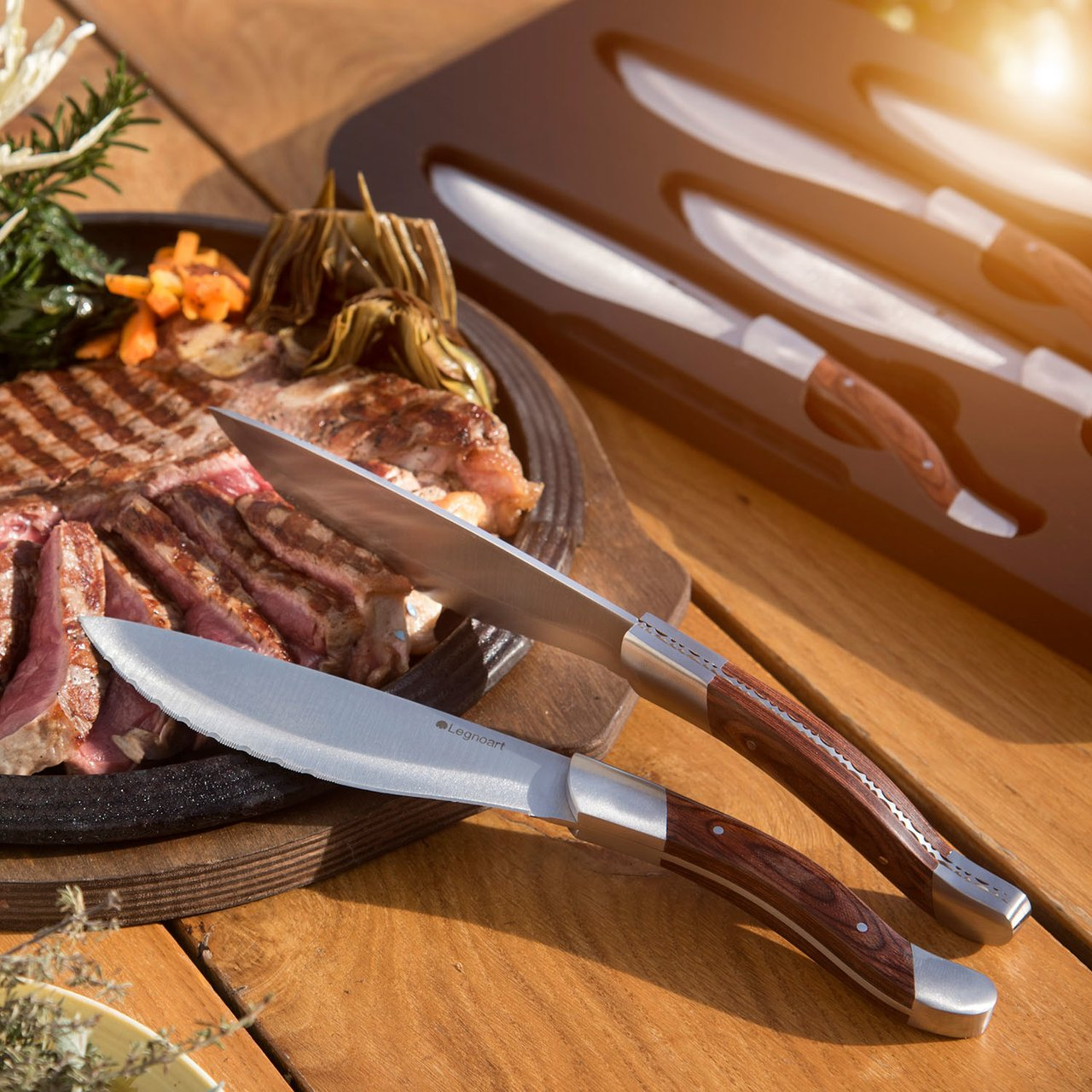 Legnoart Angus Steak Knife Set