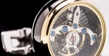 ERA Timepieces Tourbillon Styled Cufflinksv