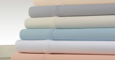 Kathy Ireland Home 1200 Thread Count Cotton Rich Bed Sheet 6 Piece Set