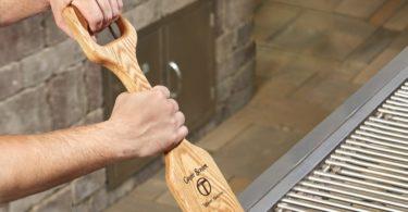Woody Shovel Grill Scraper