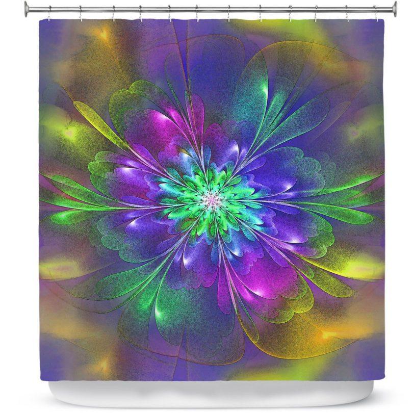 Purple Hues Shower Curtain