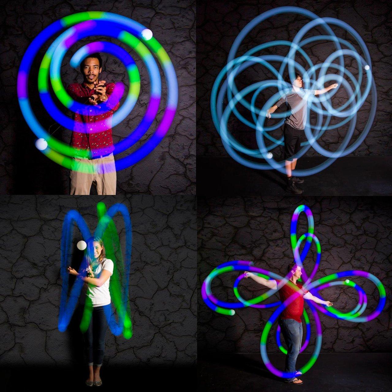 Spinballs LED Glow Poi