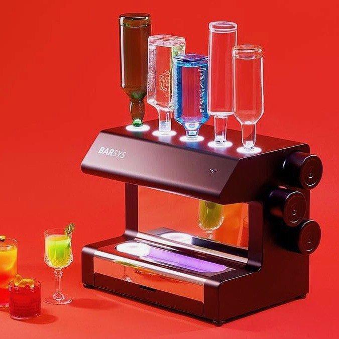 Barsys Robotic Bartender