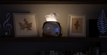 MIRRO Illuminated Tissue Box