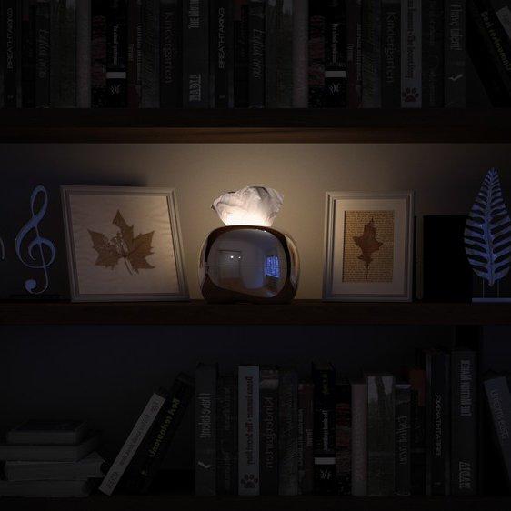 MIRRO Illuminated Tissue Box