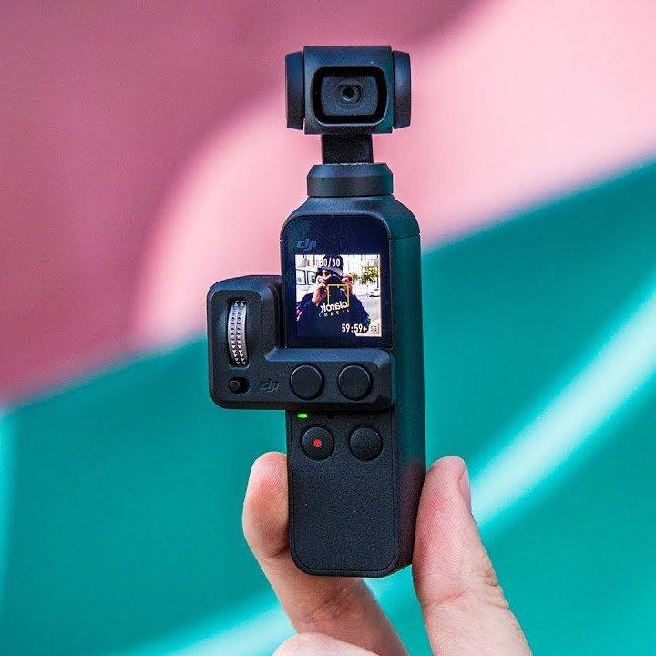 DJI Osmo Pocket 3-Axis Stabilized Camera