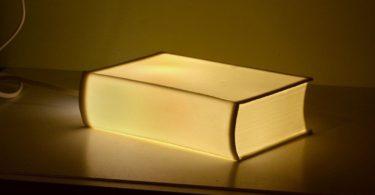 Porcelain BookLamp by Bergontwerp
