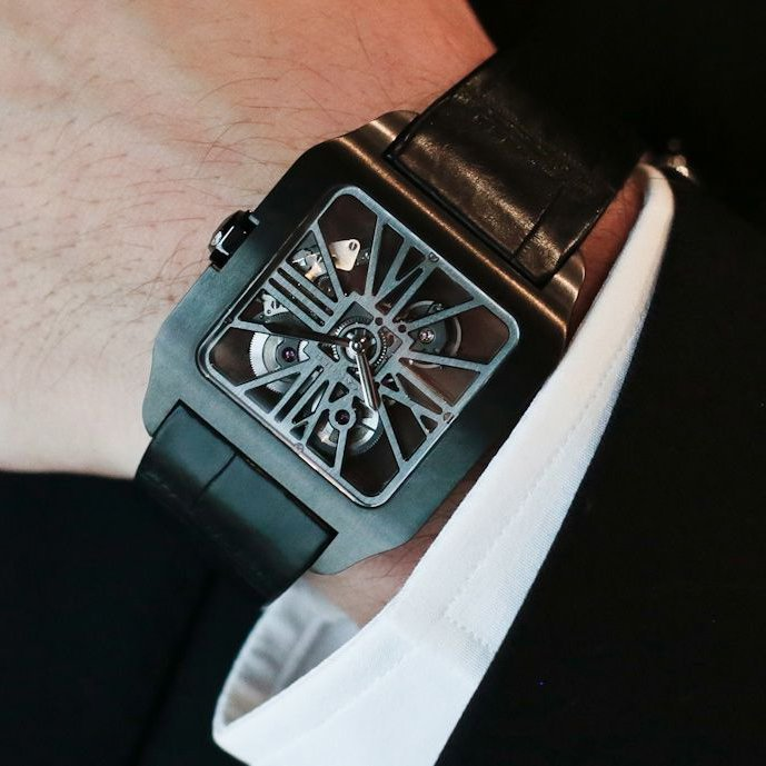 Cartier Santos-Dumont Skeleton Watch