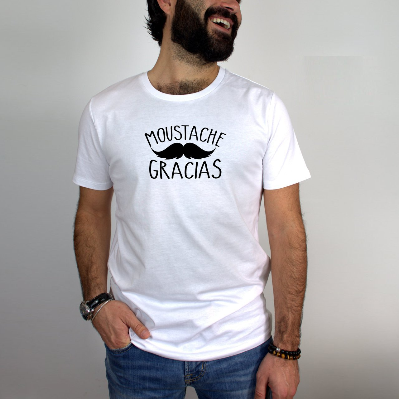 Moustache Gracias T-shirt